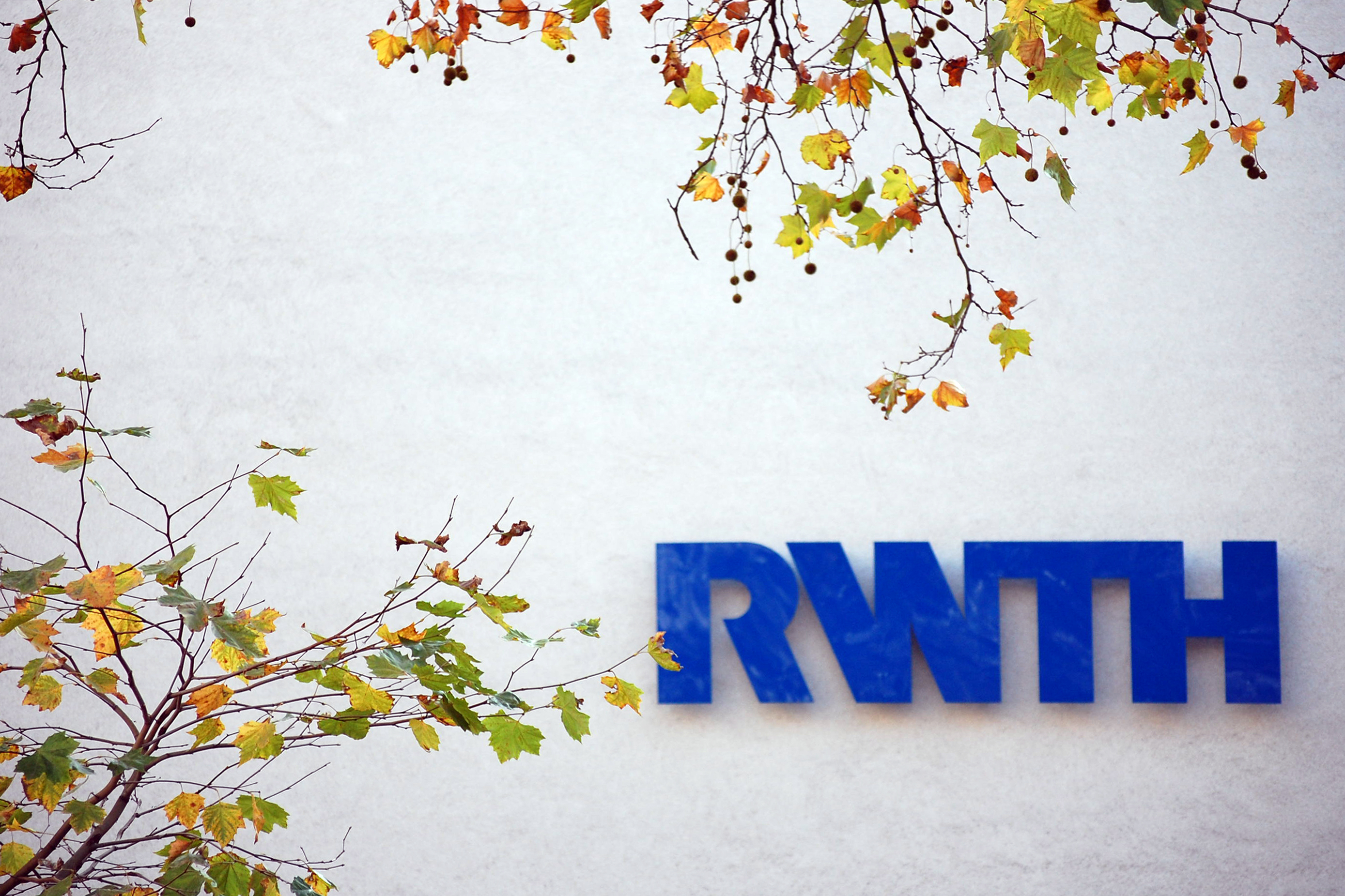 RWTH sign on a building