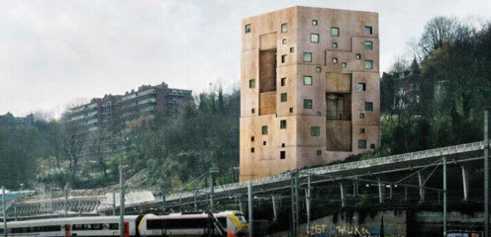Villa am hang rwth aachen university fakult t f r for Architektur aachen