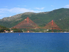 World Heritage Sites Bay of Kotor, Montenegro. Generation 3D-Computermodel, Visualisation Verige Bridge.