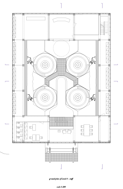 Ground plan flat 4