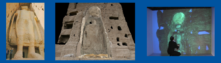 3D Reconstruction of the destroyed small Buddha of Bamiyan - RWTH
