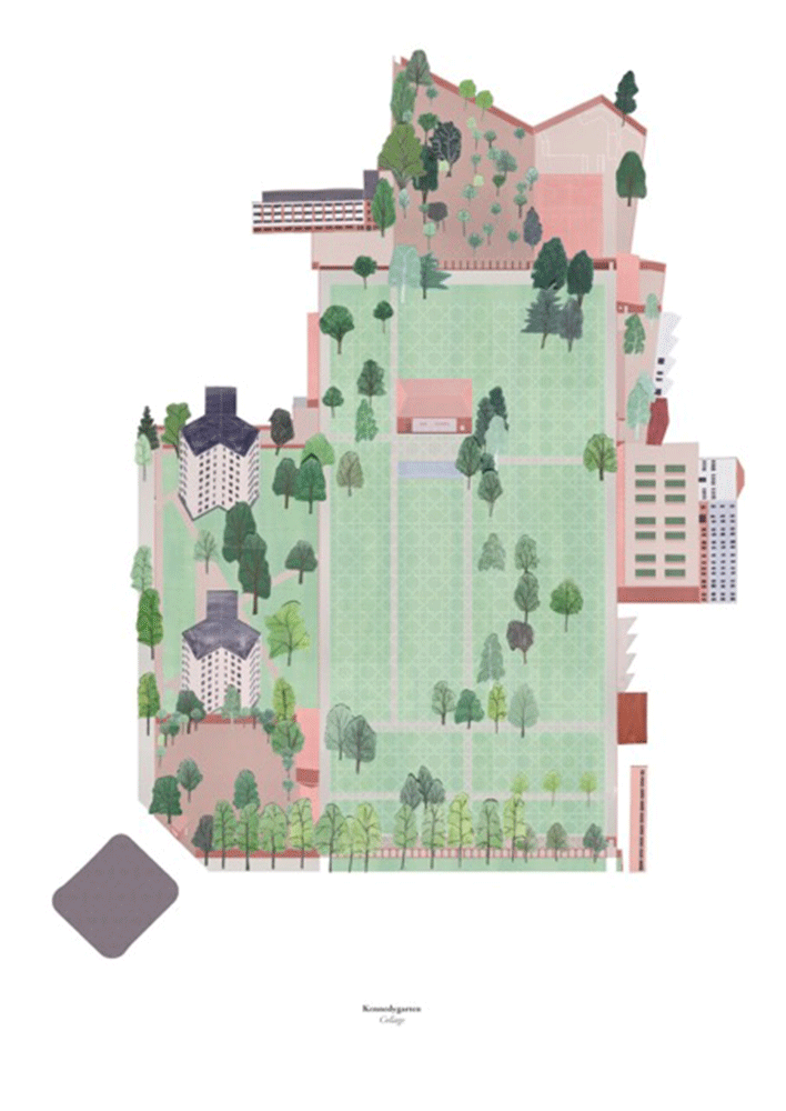ground plan axonometric projection