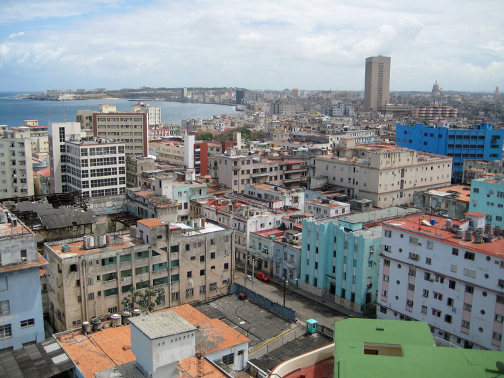 Havanna from above