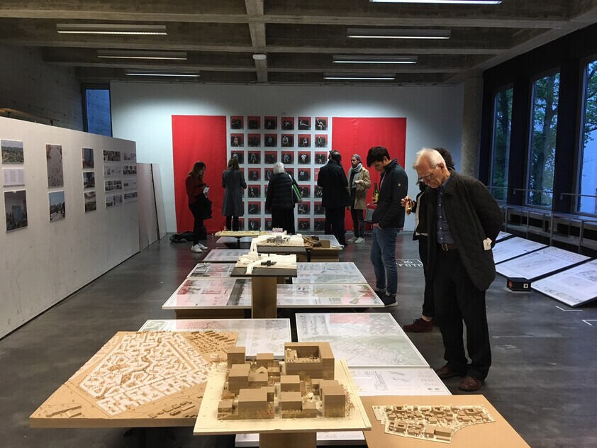 Annual Exhibition Architecture 2019, with people